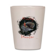 Musky hunter,3 Shot Glass