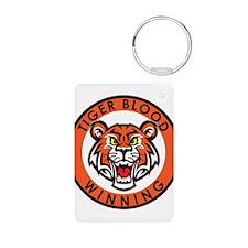 Tiger Blood....Winning Keychains
