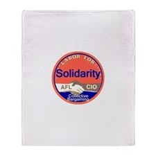 Solidarity Throw Blanket