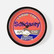Solidarity Wall Clock