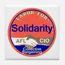 Solidarity Tile Coaster