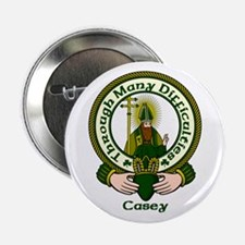 """Casey Clan Motto 2.25"""" Button (10 pack)"""
