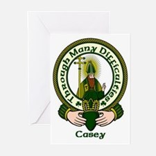 Casey Clan Motto Greeting Cards (Pk of 10)