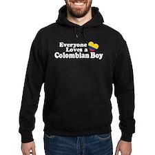 Everyone Loves a Colombian Boy Hoodie