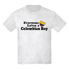Everyone Loves a Colombian Boy T-Shirt