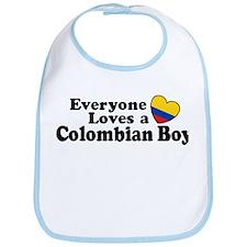 Everyone Loves a Colombian Boy Bib