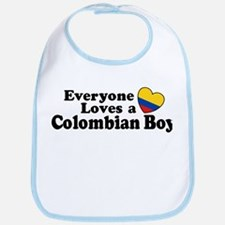 Everyone Loves a Colombian Boy Bib