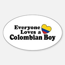 Everyone Loves a Colombian Boy Decal