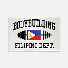 Filipino Bodybuilder Rectangle Magnet