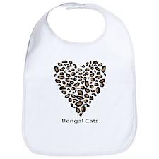 Bengal Cat Lover Bib