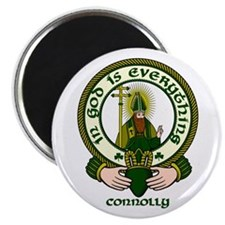 """Connolly Clan Motto 2.25"""" Magnet (10 pack)"""