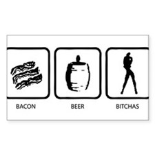 Bacon Beer Bitches Decal