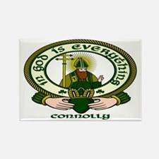 Connolly Clan Motto Rectangle Magnet (10 pack)