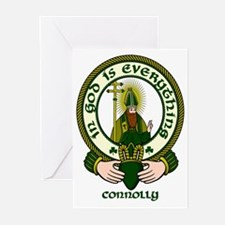 Connolly Clan Motto Greeting Cards (Pk of 10)