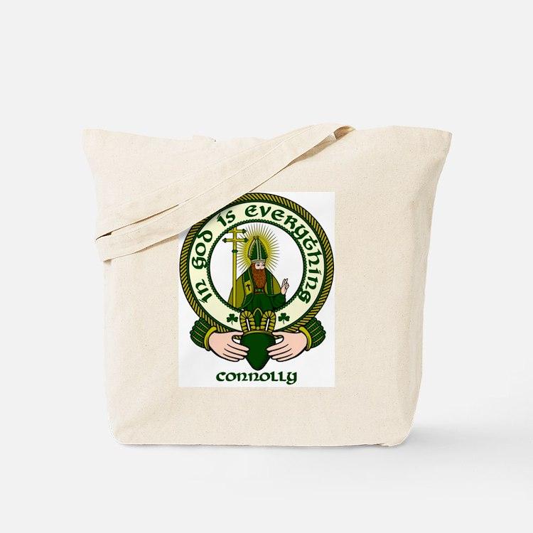 Connolly Clan Motto Tote Bag