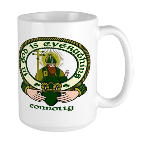 Connolly Clan Motto Large Mug