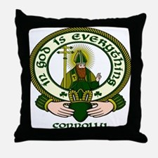 Connolly Clan Motto Throw Pillow