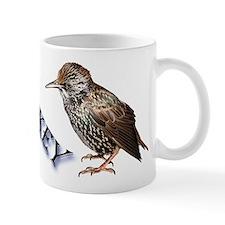 Whiskey the Starling Mug