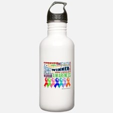 Ribbons For a Cause Water Bottle