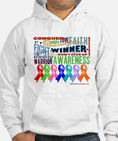 Ribbons For a Cause Hoodie