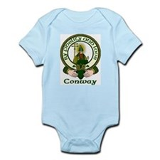 Conway Clan Motto Infant Bodysuit