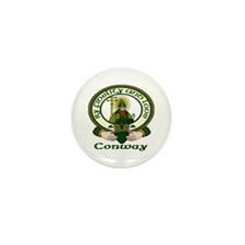 Conway Clan Motto Mini Button (10 pack)