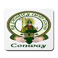 Conway Clan Motto Mousepad