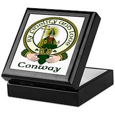 Conway Clan Motto Keepsake Box
