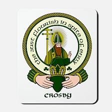 Crosby Clan Motto Mousepad