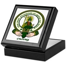 Crosby Clan Motto Keepsake Box