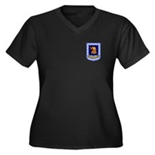 96th Bomb Wing Women's Plus Size V-Neck (Dark)