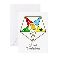 Grand Conductress Greeting Cards (Pk of 20)