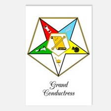 Grand Conductress Postcards (Package of 8)