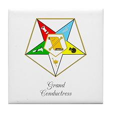 Grand Conductress Tile Coaster