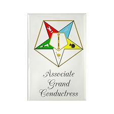 Associate Grand Conductress Rectangle Magnet