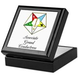 Fraternal Square Keepsake Boxes
