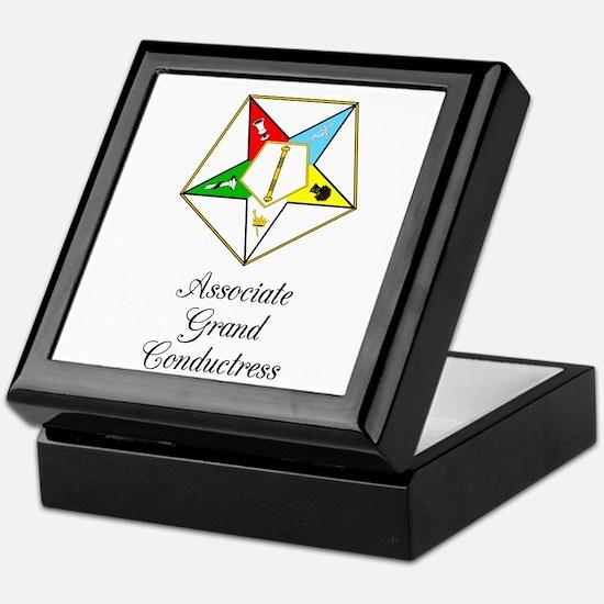 Associate Grand Conductress Keepsake Box