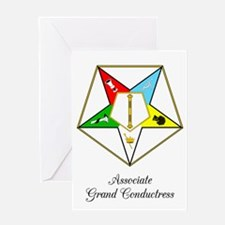 Associate Grand Conductress Greeting Card