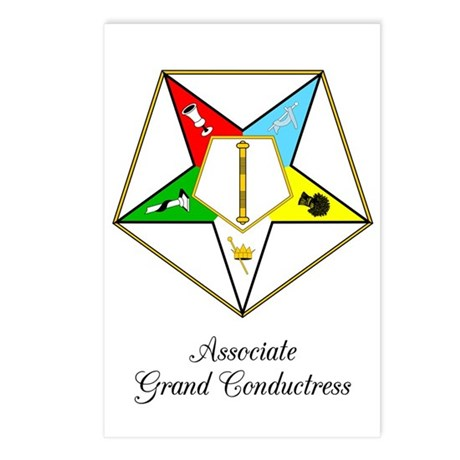 Associate Grand Conductress Postcards (Package of
