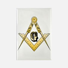 Masonic Rectangle Magnet