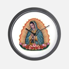 Lady of Guadalupe T2 Wall Clock