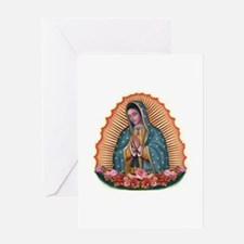 Lady of Guadalupe T2 Greeting Card