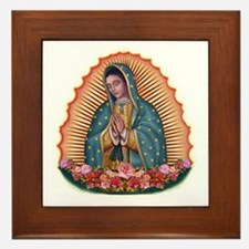Lady of Guadalupe T2 Framed Tile