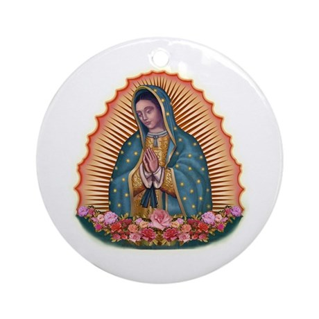 Lady of Guadalupe T2 Ornament (Round)