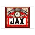 JAX Beer Label Large Poster