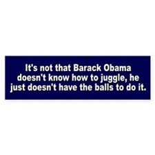 Barack Obama Doesn't Have The Bumper Sticker