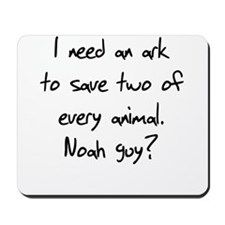 I need an ark for two animals Mousepad