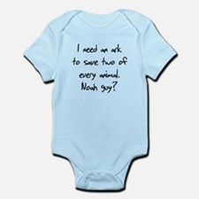 I need an ark for two animals Infant Bodysuit
