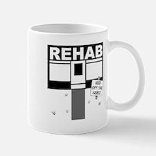 Rehab Keep Off The Grass Pun Mug