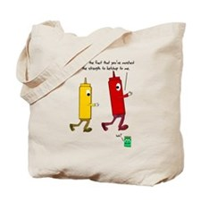 Ketchup Mustard Relish Race S Tote Bag